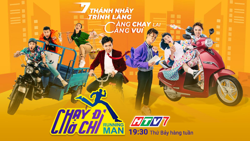 HTV7: Chạy đi chờ chi (Running man phiên bản Việt)