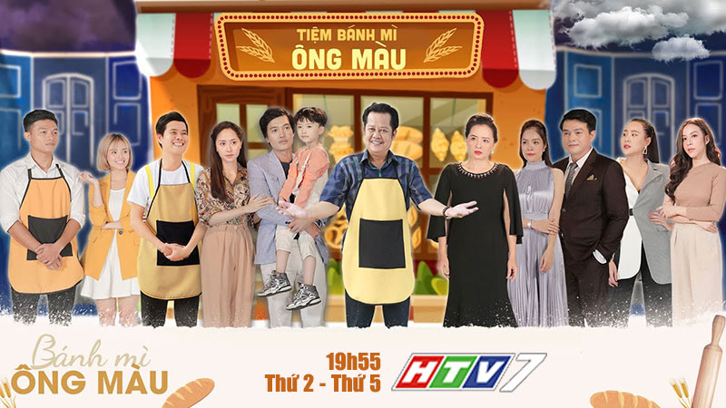 HTV7: Bánh mì ông Màu