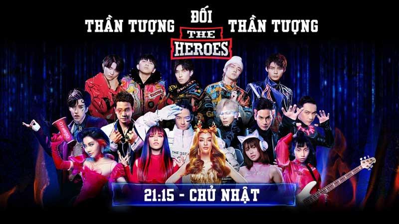 VTV3: The Heroes - Thần tượng đối thần tượng