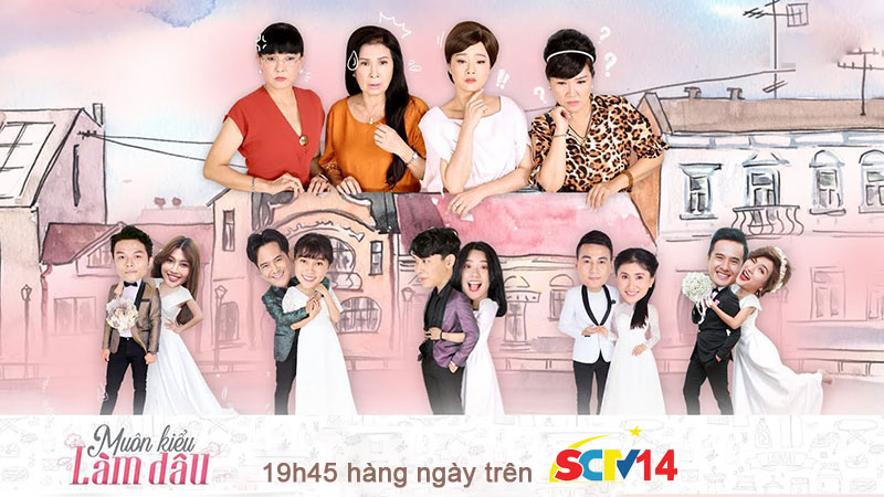 SCTV14: Muôn kiểu làm dâu